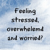Stress, overwhelemd worried